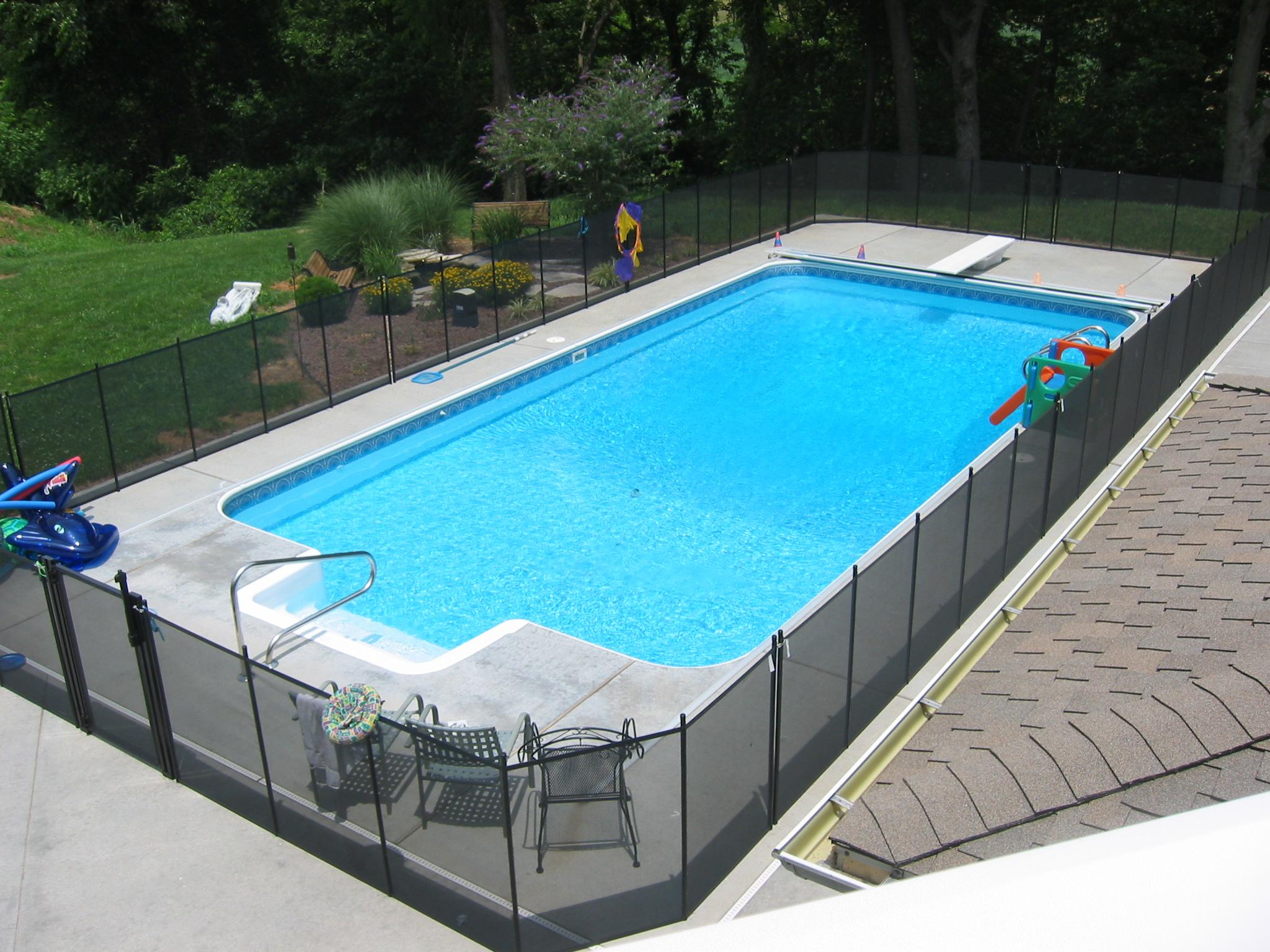 Pool fencing life saver fence systems