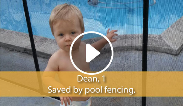 Life Saver Pool Fence Saves Lives.