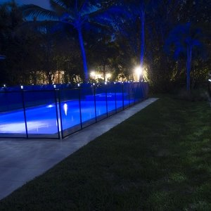 Life Saver Pool Fence Light