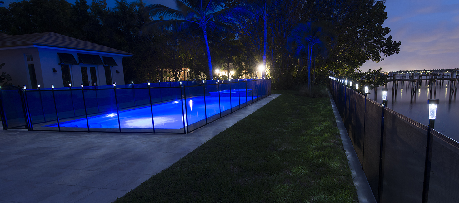 Pool Fence Solar Light Life Saver Pool Fence Systems