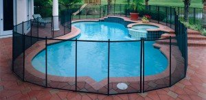 Pool Fences in Black