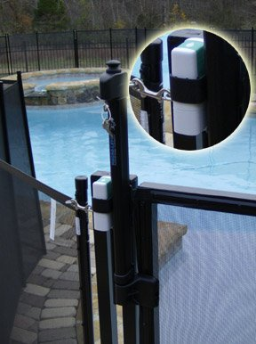 Self Closing Self Latching Pool Gate Pool Fence Safety Gate