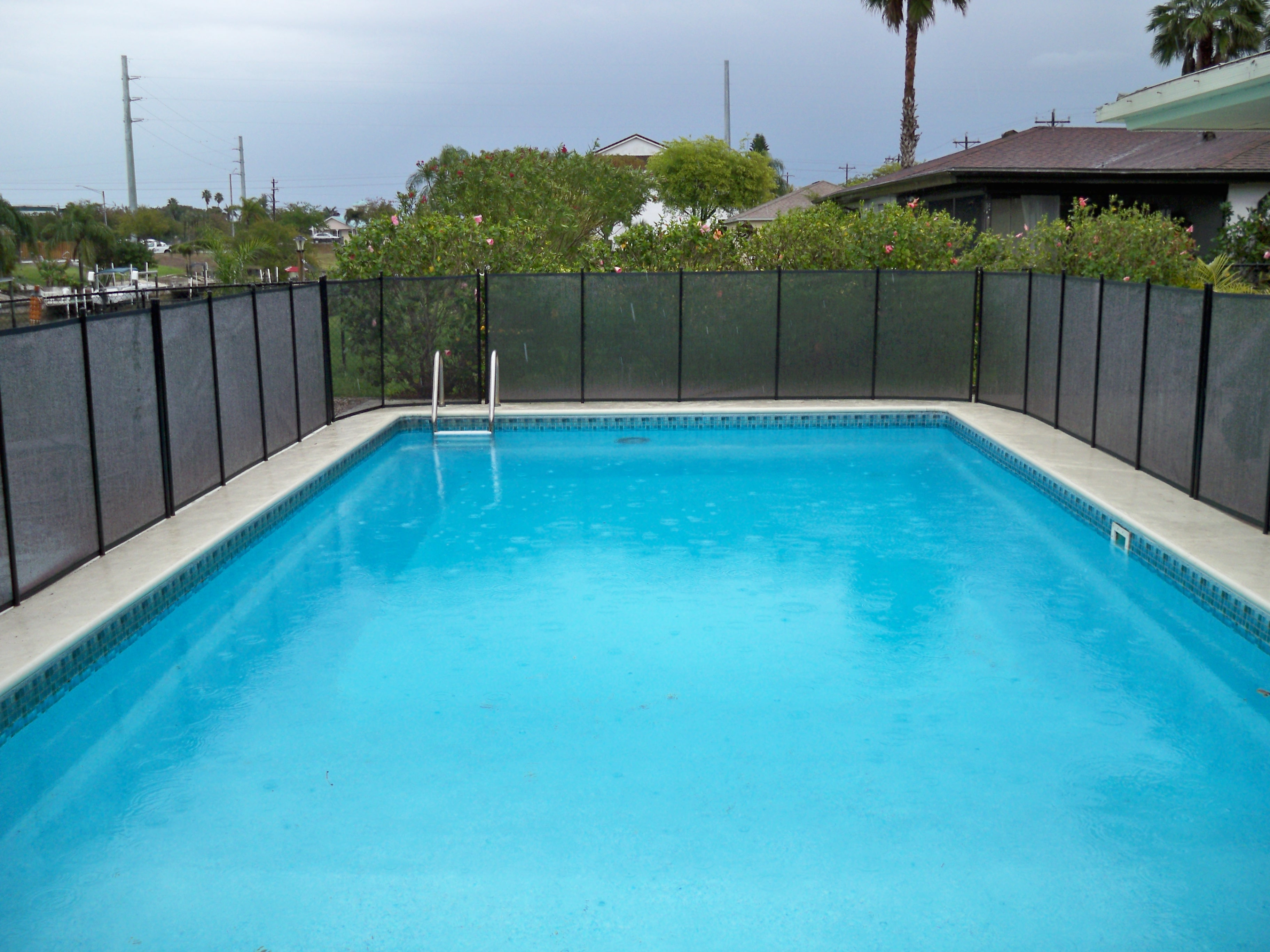 Pool Fence Donation #1: The Franco Family