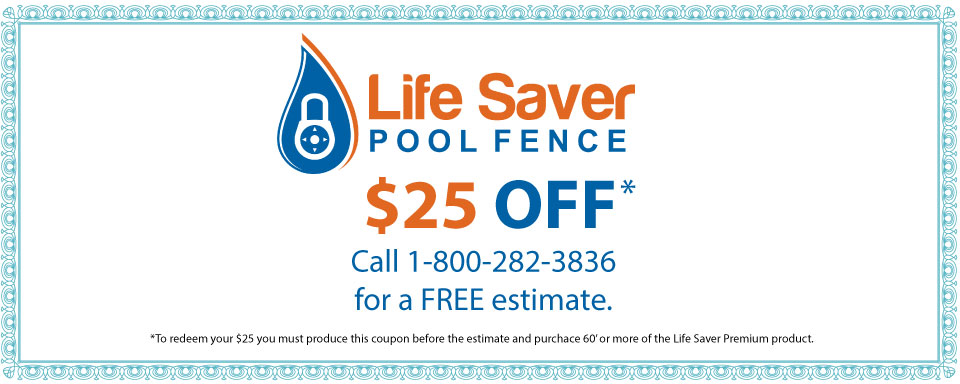 Life Saver Pool Fence | 25$ Off Coupon