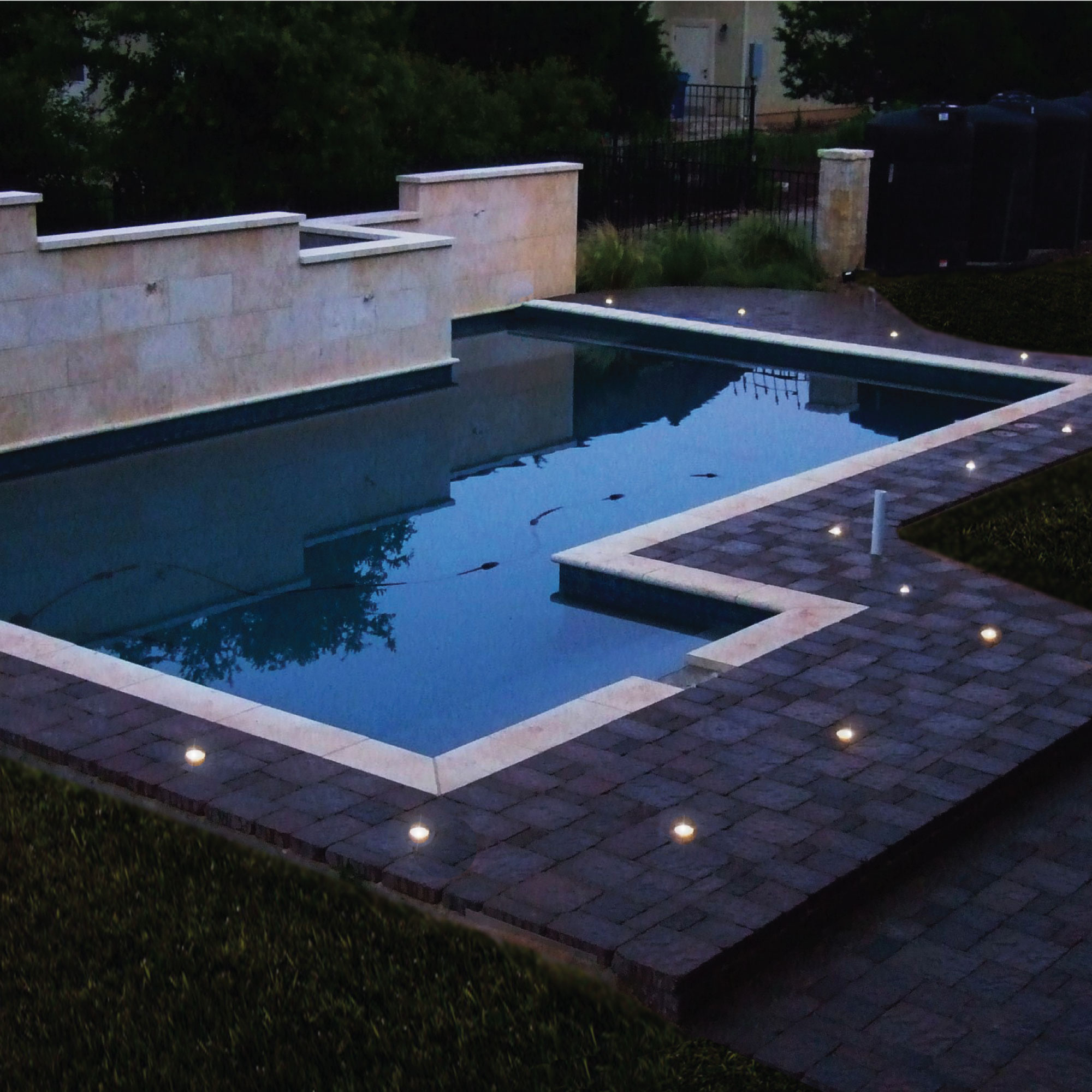 Ground cap solar light 6 lights per box life saver pool fence life saver pool fence mozeypictures Image collections