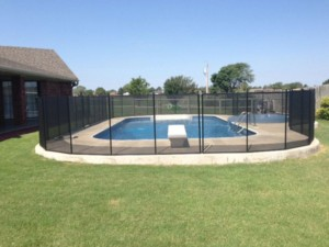 pool safety fencing in Oklahoma